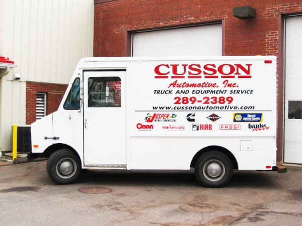 Truck and Equipment Service | Cusson Automotive
